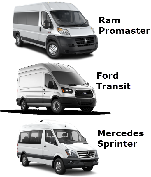 Sprinter Size Diagrams Sprinter Van Outpost